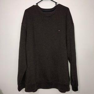 Tommy Hilfiger brown crew neck sweatshirt